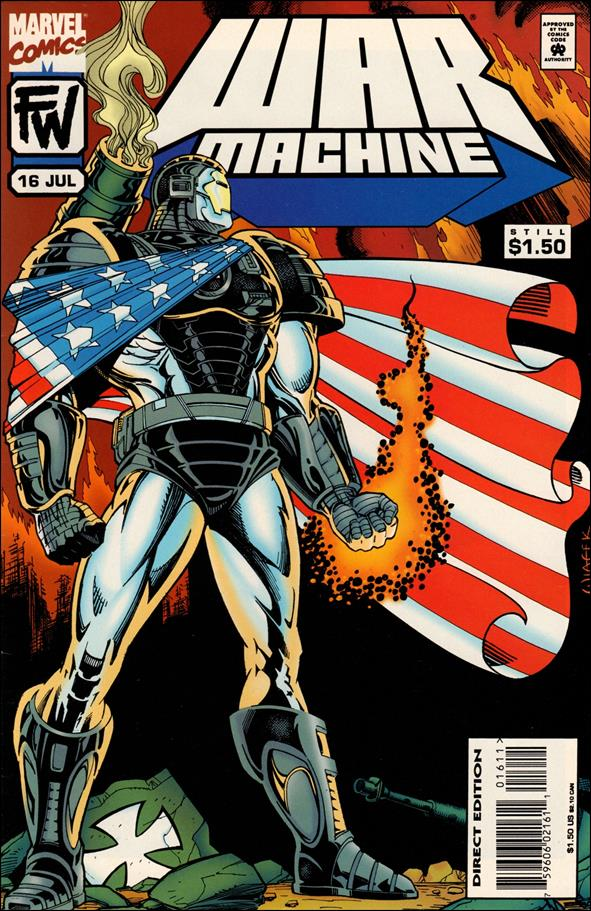 War Machine (1994) 16-A by Marvel