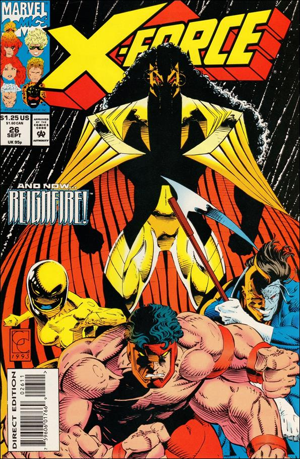 X-Force (1991) 26-A by Marvel