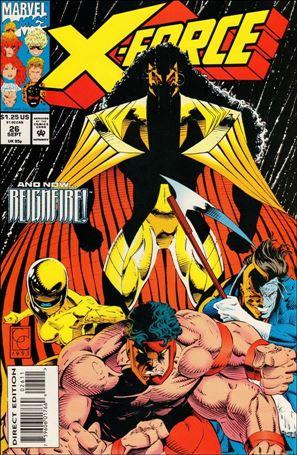 X-Force (1991) 26-A