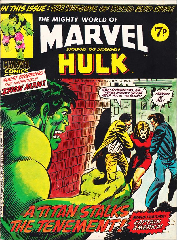 Mighty World of Marvel (UK) (1972) 93-A by Marvel UK