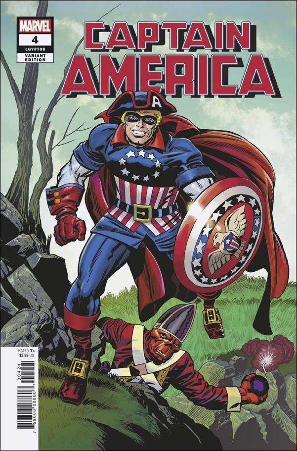 Captain America (2018) 4-C by Marvel
