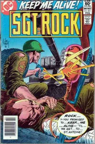Sgt. Rock (1977) 361-A by DC