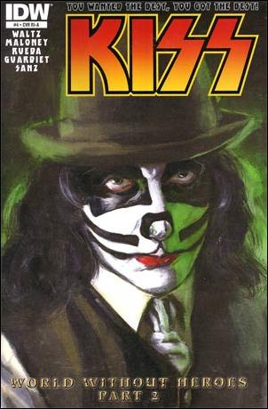 Kiss (2012) 4-C by IDW