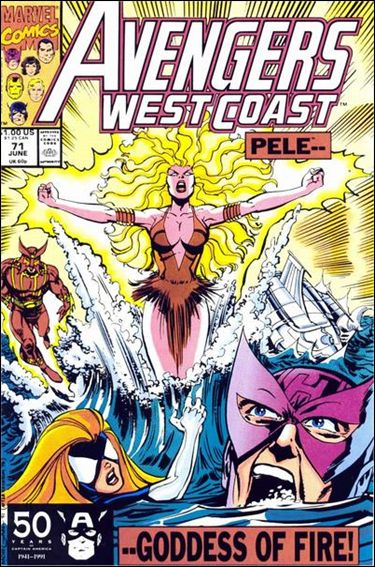 Avengers West Coast 71-A by Marvel