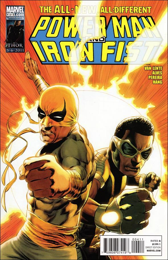 Power Man and Iron Fist (2011) 4-A by Marvel