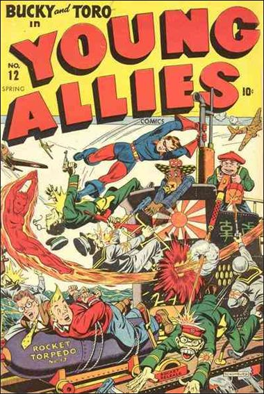 Young Allies Comics 12-A by Marvel