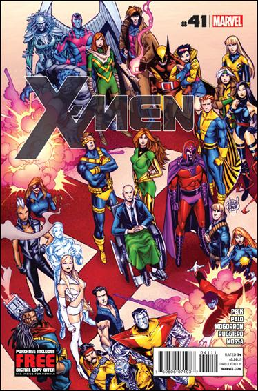 X-Men (2010) 41-A by Marvel