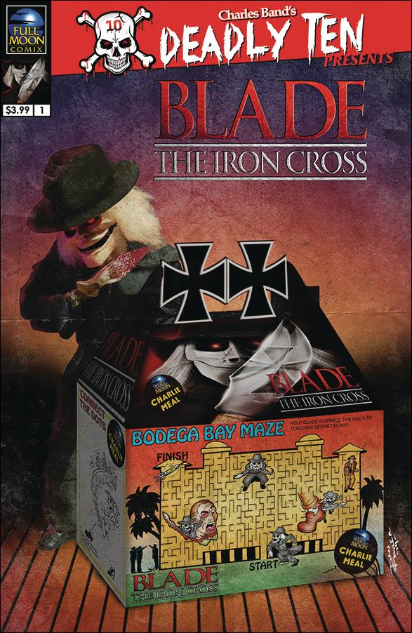 Deadly Ten Presents: Blade the Iron Cross 1-B by Full Moon