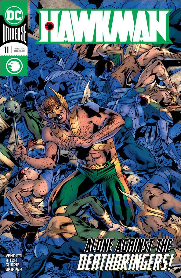 Hawkman (2018) 11-A by DC