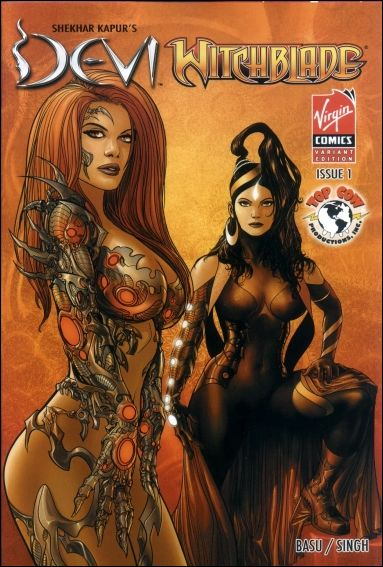 Devi/Witchblade 1-B by Virgin Comics
