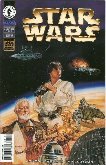 Star Wars: A New Hope - The Special Edition 1-A by Dark Horse