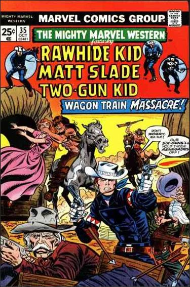 Mighty Marvel Western 35-A by Marvel