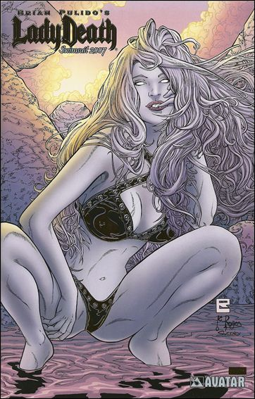 Lady Death: Swimsuit Special 2007-B by Avatar Press