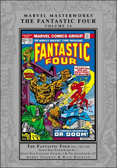 Marvel Masterworks: The Fantastic Four 14-A by Marvel