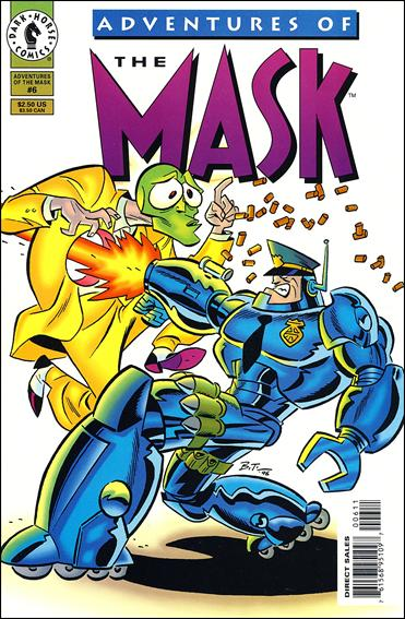 Adventures of the Mask 6-A by Dark Horse