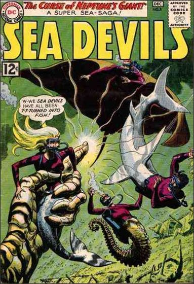 Sea Devils 8-A by DC