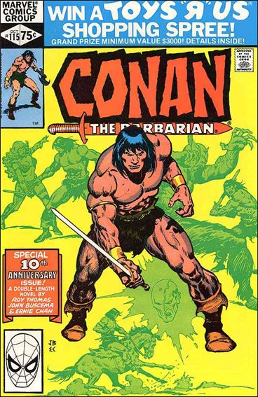 Conan the Barbarian (1970) 115-A by Marvel