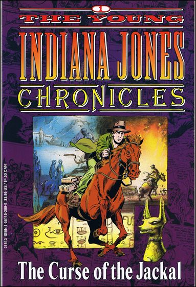 Young Indiana Jones Chronicles 1-A by Disney's Hollywood Comics