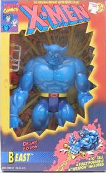 "X-Men Deluxe Edition 10"" Action Figures Beast by Toy Biz"