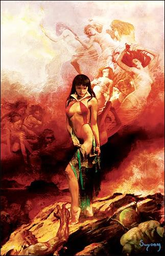 Vampirella 2006 Halloween Special 1-F by Harris