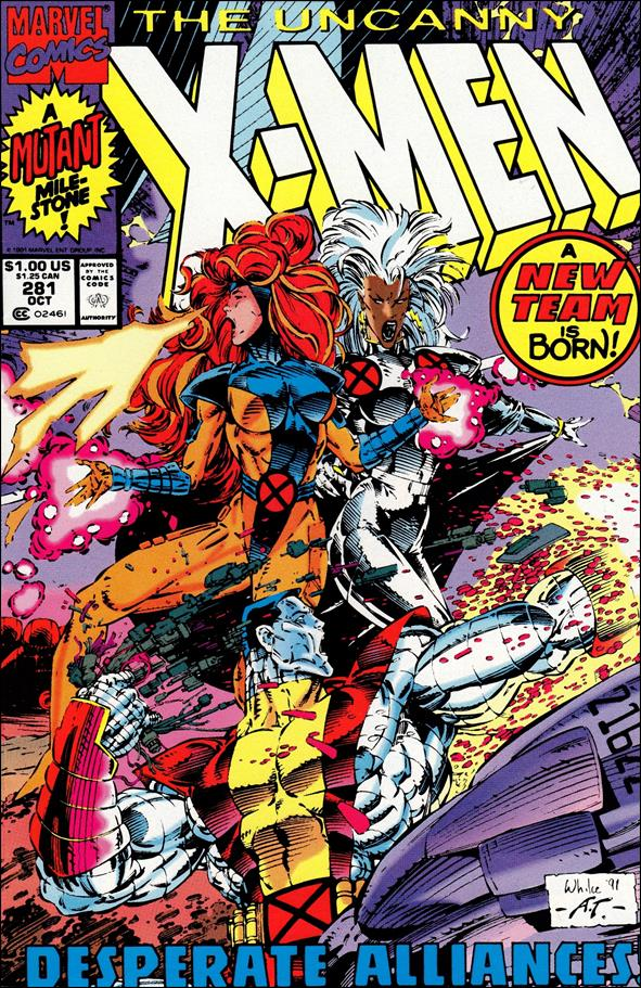 Uncanny X-Men (1981) 281-A by Marvel