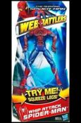 Amazing Spider-Man (Web Battlers)  Whip Attack Spider-Man (Movie Series)