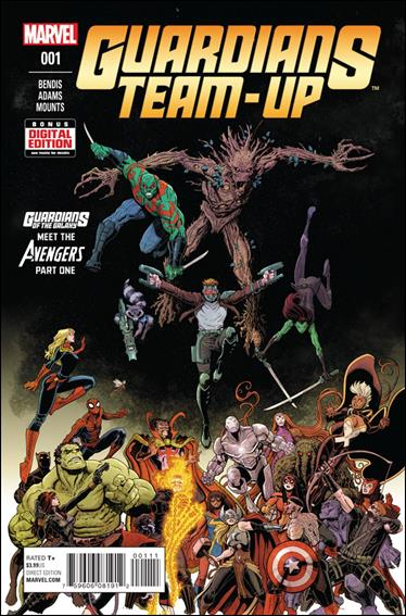 Guardians Team-Up 1-A by Marvel
