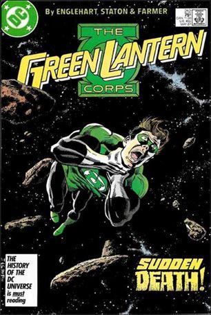 Green Lantern Corps (1986) 212-A