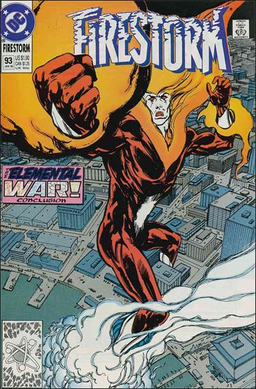 Firestorm The Nuclear Man (1987) 93-A by DC