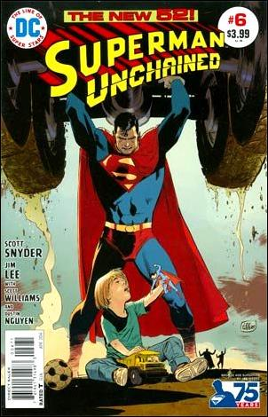 Superman Unchained 6-H by DC
