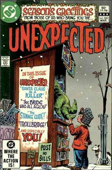 Unexpected (1968) 220-A by DC