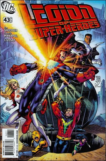 Legion of Super-Heroes (2005) 43-A by DC