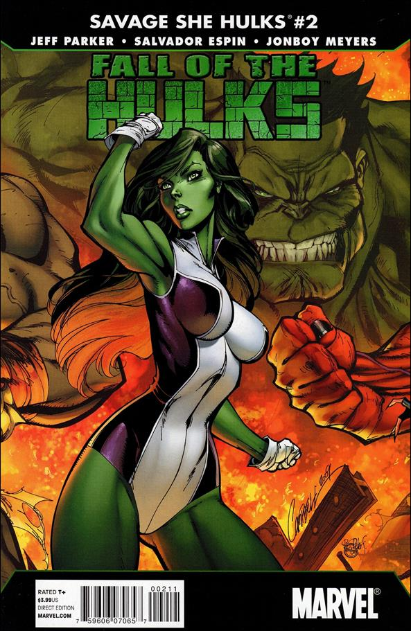 Fall of the Hulks: The Savage She-Hulks 2-A by Marvel