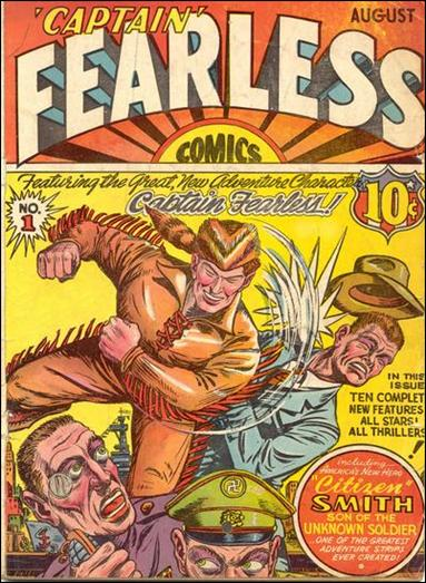 Captain Fearless Comics 1-A by Holyoke