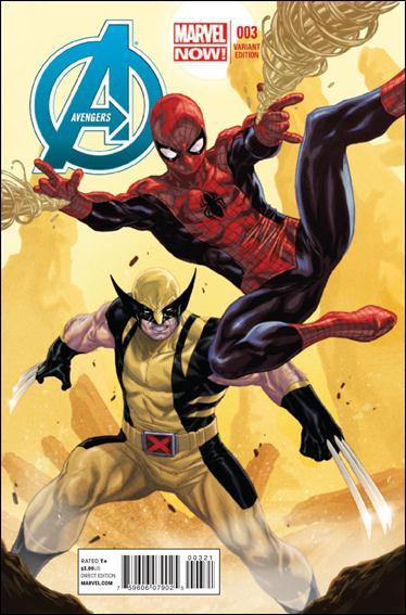 Avengers (2013) 3-C by Marvel