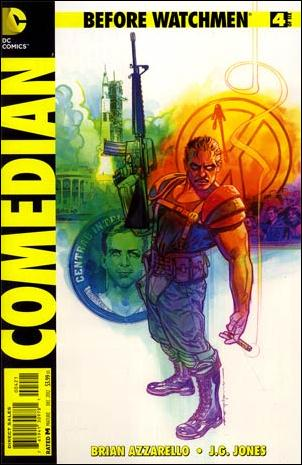Before Watchmen: Comedian 4-D by DC
