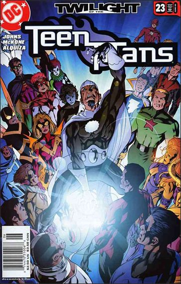 Teen Titans (2003) 23-A by DC