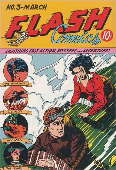 Flash Comics (1939) 3-A by DC