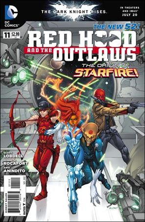 Red Hood and the Outlaws  11-A