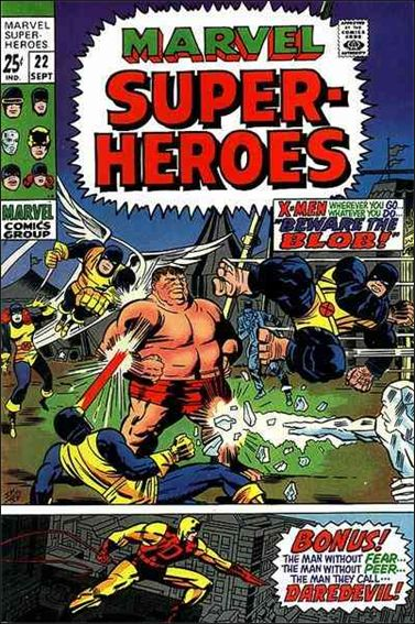 Marvel Super-Heroes (1967) 22-A by Marvel