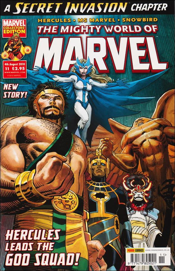 Mighty World of Marvel (UK) (2009) 11-A by Panini