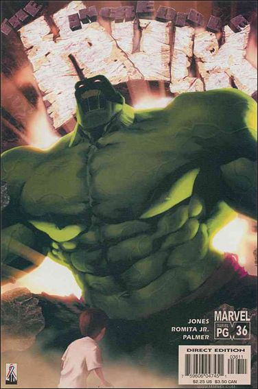 Incredible Hulk (2000)  36-A by Marvel