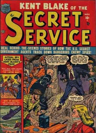 Kent Blake of the Secret Service 4-A by Atlas