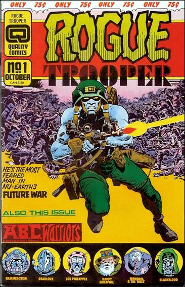 Rogue Trooper 1-A by Quality Comics