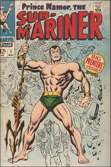 Sub-Mariner (1968) 1-A by Marvel