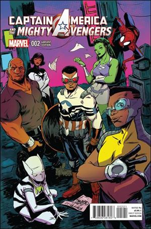 Captain America & The Mighty Avengers 2-B