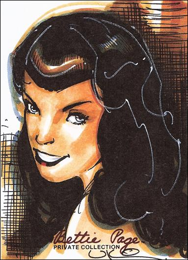 Bettie Page Private Collection (Preview) Sketch 2-A by Versicolor Productions