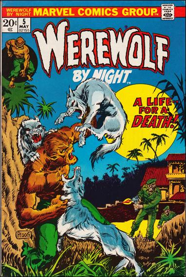 Werewolf by Night (1972) 5-A by Marvel