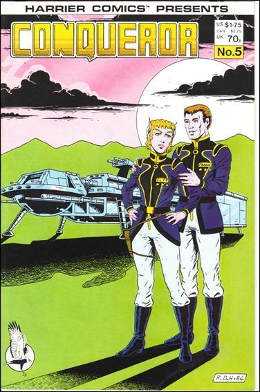 Conqueror 5-A by Harrier Comics