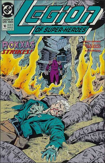 Legion of Super-Heroes (1989) 10-A by DC